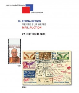 10 Fernauktion - Jean-Paul Bach