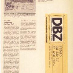 Deutsche Briefmarken Zeitung vom 31.01.1992