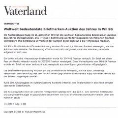 Liechtensteiner Vaterland vom 06.06.2010