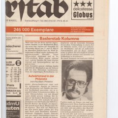 Baslerstab vom 15.08.1983