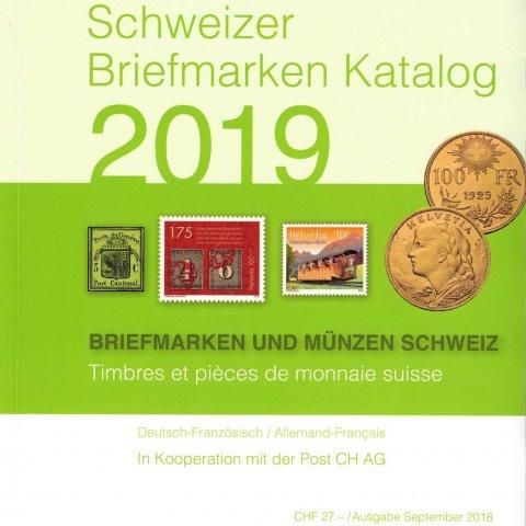 Schweizer Briefmarken Katalog